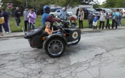 Jackson in side car